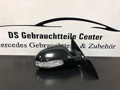 Orig. Mercedes CLK W209 A209 Außenspiegel el. Anklappbar 197 Obsidianschwarz R