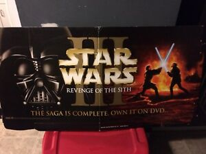 Star Wars Revenge of The Sith Display