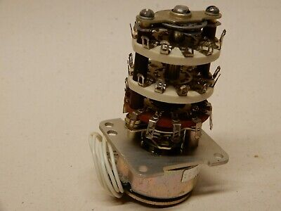 Ledex Rotary Solenoid Selector Switch Shown C-80806-001 Nos Tested Working