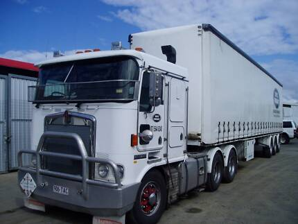 Transport Delivery two Semi Trailers SEQ Wakerley Brisbane South East Preview