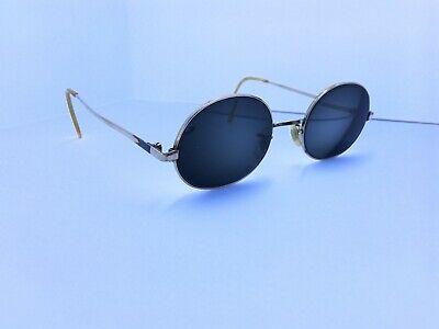 HUD-US Vintage Gold Oval Eyeglasses Sunglasses FRAME ONLY 1/20 12K.G.F (Hud Sunglasses)