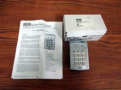 Security Door Controls 928 Entry Check Keypad