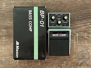 Maxon BP-01, Bass Compressor, Made In Japan, 1980s, Original Boxing Brisbane City Brisbane North West Preview