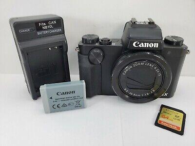 Canon PowerShot G5X 20.2MP Digital Camera 4.2x Optical Zoom Full-HD WiFi