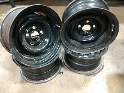 Ford mustang Torino Montego wide factory steel wheels 14x7