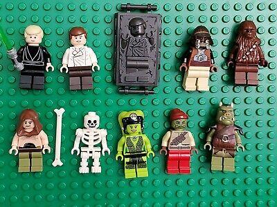 Lego Star Wars Jabba's Palace Minifigures Oola Luke Han Lando Gamorrean Lot