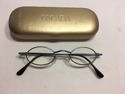 Beauty & Gesundheit Damen-accessoires Brille Extrem Gestell Kunststoff Rand Rund Schwarz Silber Luxusmarke Idc Size M