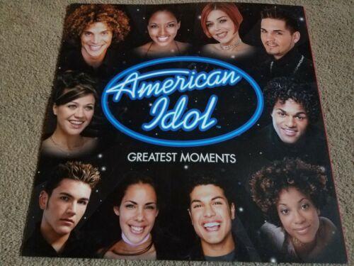 AMERICAN IDOL~Season 1 - Kelly Clarkson - DOUBLE SIDED POSTER FLAT 12 X 12 RARE