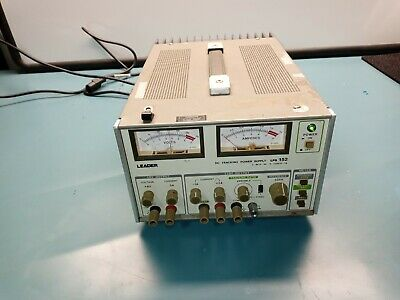 Leader Lps-152 Dc Dual Tracking Power Supply With 30 Day Warranty