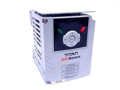 Cerus Industrial Ci 002 Gs4 Titan Gs Industrial Control Variable Frequency Drive
