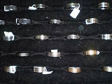 Men's various Stainless Steel Dress Rings (sold sep) Landsdale Wanneroo Area Preview