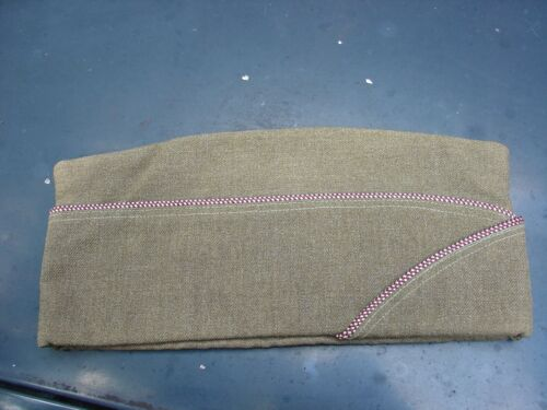Army Medical Overseas hat Flight Ace Golden interior size 7 Orig price tag LOT H