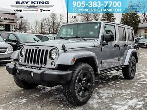 2015 Jeep WRANGLER UNLIMITED 4x4, REMOTE START, NAV, TRAILER TOW