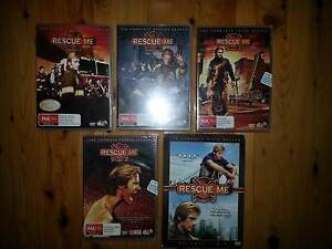 Rescue Me DVDs Seasons 1-5 Rankin Park Newcastle Area Preview