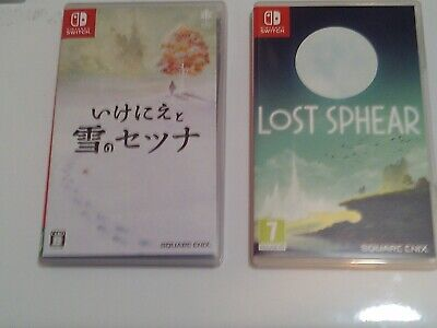 I Am Setsuna and Lost Sphear - Plays in English (NIntendo Switch, 2017 and 2018)