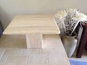TRAVERTINE TABLE  ... very solid genuine product Dee Why Manly Area Preview