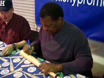 Don Baylor Signed Baseball Bat with Proof