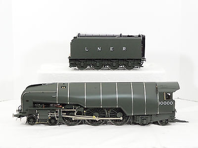 L.H. Loveless Gauge 1 Brass 1:32 LNER 10000 4-6-4 Hush Hush Steam Engine Damaged
