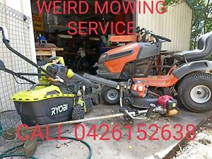 WEIRD MOWING SERVICE and handyman
