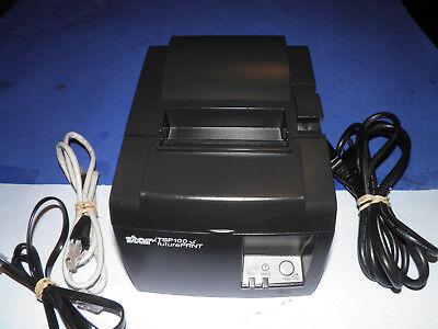 Star Tsp143lan Pos Thermal Receipt Printer Tsp100 Ethernet W Ac Cord