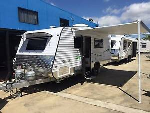 REGENT DISCOVERER 18'6 SEMI OFFROAD ENSUITE SHOWER TOILET CARAVAN Clontarf Redcliffe Area Preview