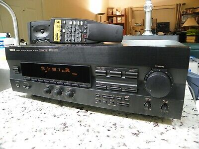 Vintage Yamaha R V502 A/V Stereo Receiver 5.1 Channel Surround Sound Phono CD