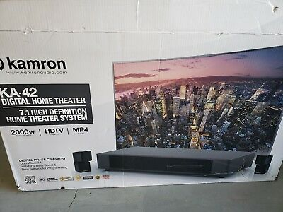 Kamron Audio KA-42 2000 Watt 7.1 HD Home Theater System SPEAKERS