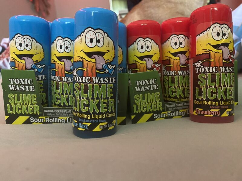 toxic waste slime lickers candy