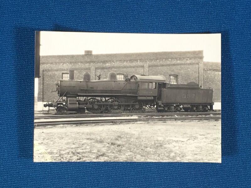 Chicago & North Western Railway Train Engine Locomotive No. 337 Antique Photo