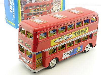 MF 844 Double Decker Bus Doppeldecker Blechspielzeug China OVP ST 1412-06-60