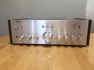 Vintage SONY Amplifier Stereo Receiver
