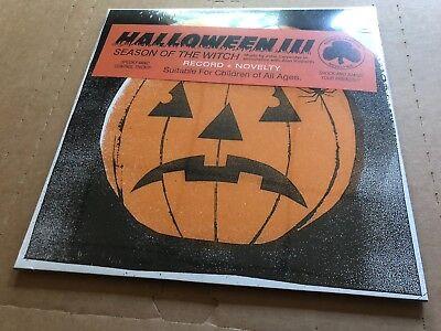 NEW SUPER RARE John Carpenter - Halloween III 3 Season of the Witch ORANGE - Halloween Iii Vinyl