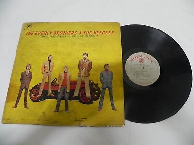 The Everly Brothers & The Bee Gees - 1970 Korea Old Vintage LP