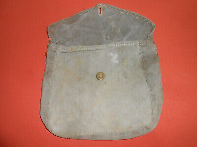 U.S.ARMY :: WWI & WWII era  -M1910- CANVAS HAVERSACK MESS KIT MEAT CAN POUCH