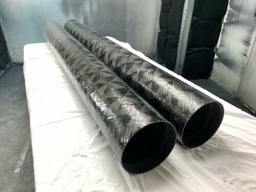 "Carbon Fiber Filament Wound Tube 10.014"" ID X 10.330"" OD X 101.25"" long"