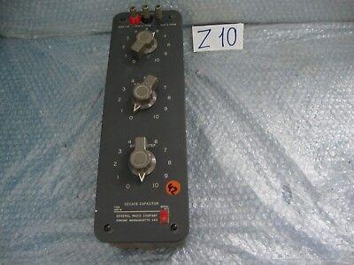 General Radio Decade Capacitor 1419-m