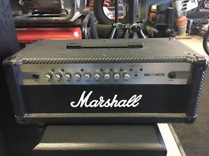 Marshall Amplifier MG100HCFX in mint condition