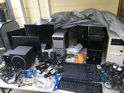 desktop computer and parts
