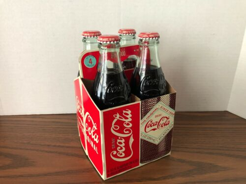 Limited Edition 1900 Coca Cola bottles 4 pack, 2008, 8.5oz.