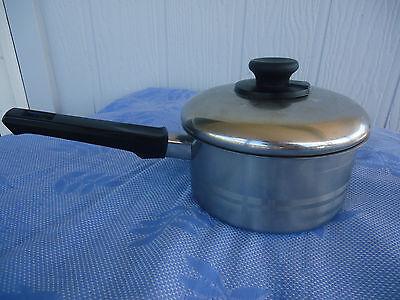 stainless steel saucepan vitesse finemark  heavy base