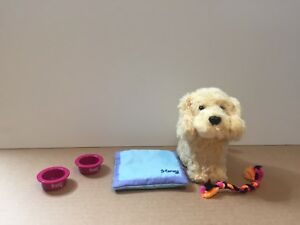American girl dog and accessories