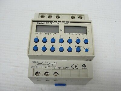Theben Tr 627 Programmable Switch.