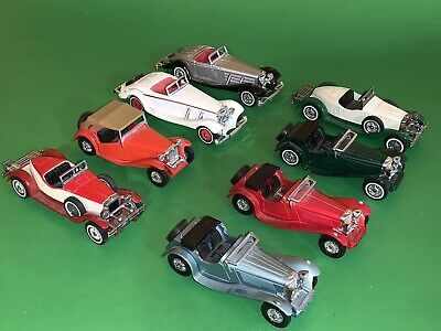 Matchbox 1:35 Models of Yesteryear Lot of 8