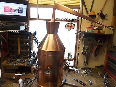 SALE 7 Gallon Copper Moonshine Still By Ron Yurcak