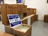 Large Oak Kitchen St. Catharines Ontario Preview