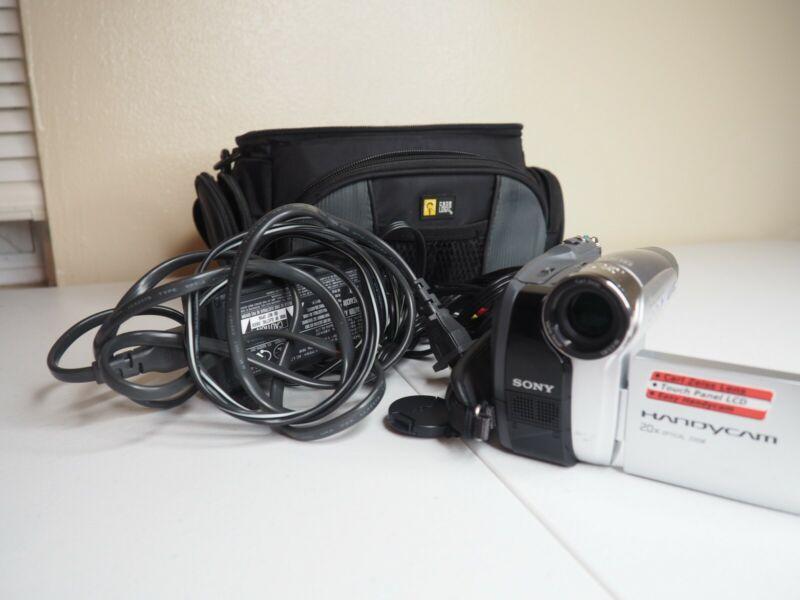 Sony Handycam DCR-HC26 Mini DV Camcorder - Battery, Charger & Case
