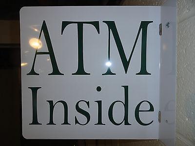 Atm Inside Pole Sign