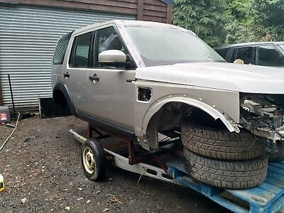LAND ROVER DISCOVERY 4 LHD COMPLETE BODY SHELL  DOORS WINGS