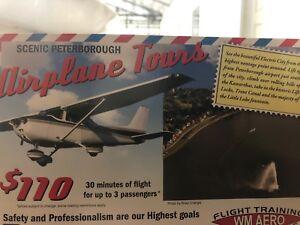 Aeroplane tour