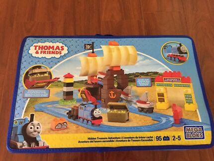 Wanted: Thomas And Friends Mega Bloks Hidden Treasure adventure NEW